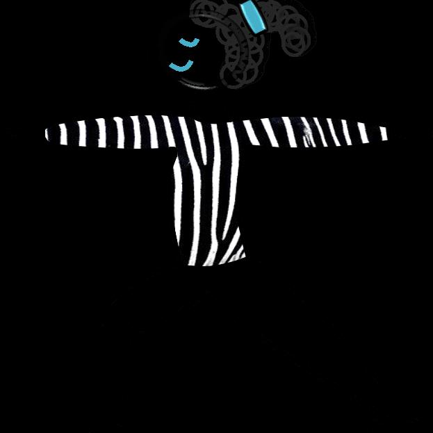 Wir alle sind einzigartige Zebras